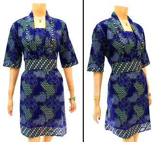 Model Baju Dress Batik Modern Terbaru 2013