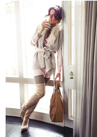 Fashionable Hairs Jennifer Lopez on Lookbook Collection Fall 2011 - 02