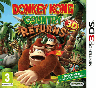 N3DS Donkey Kong Country Returns 3D Spa,Eng,Fre,Ita,Ger EUR