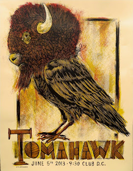 Tomahawk Dan Grzeca Free Friday Poster Giveaway