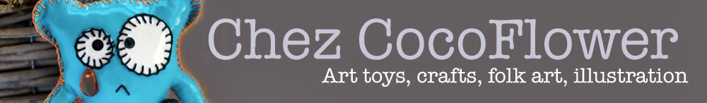 CocoFlower blog - DIY, Folk art, Créations textiles, Crochet, Art toys
