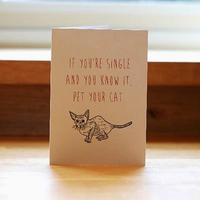 anti valentines card
