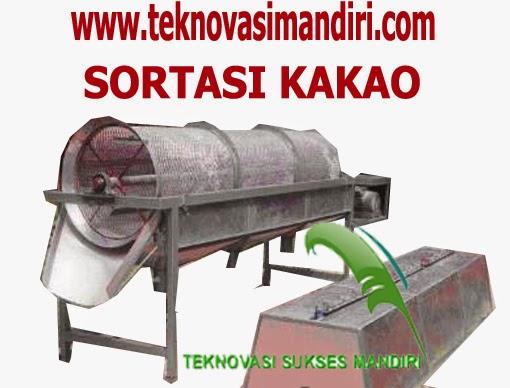 Mesin Sortasi Kakao - Rotary Grader Kakao