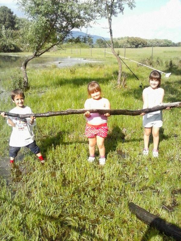 Nicolas, Lucía e Inés