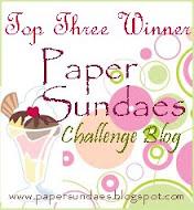 Paper Sundaes!