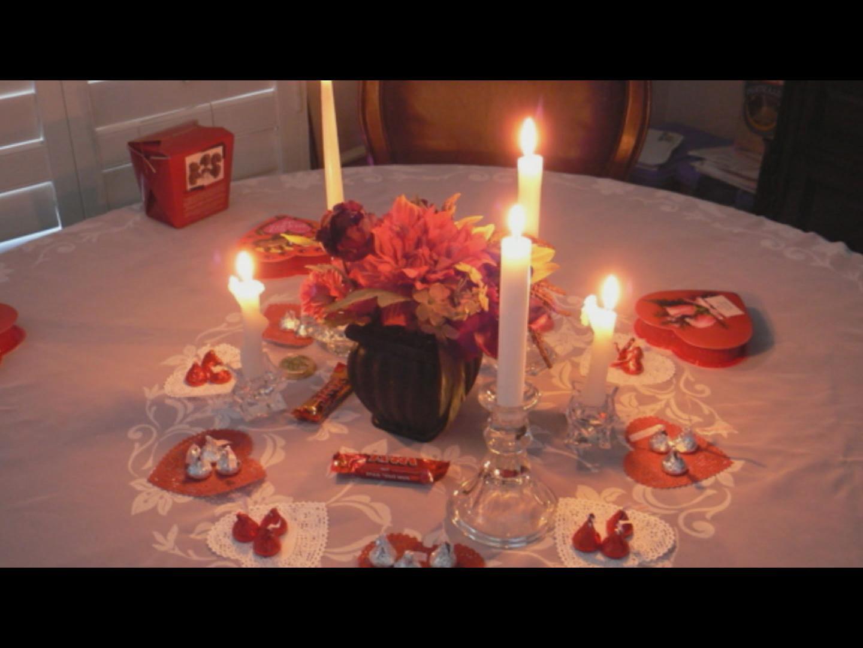 День святого валентина подарки ужин