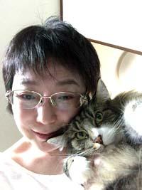 愛猫と一緒♪
