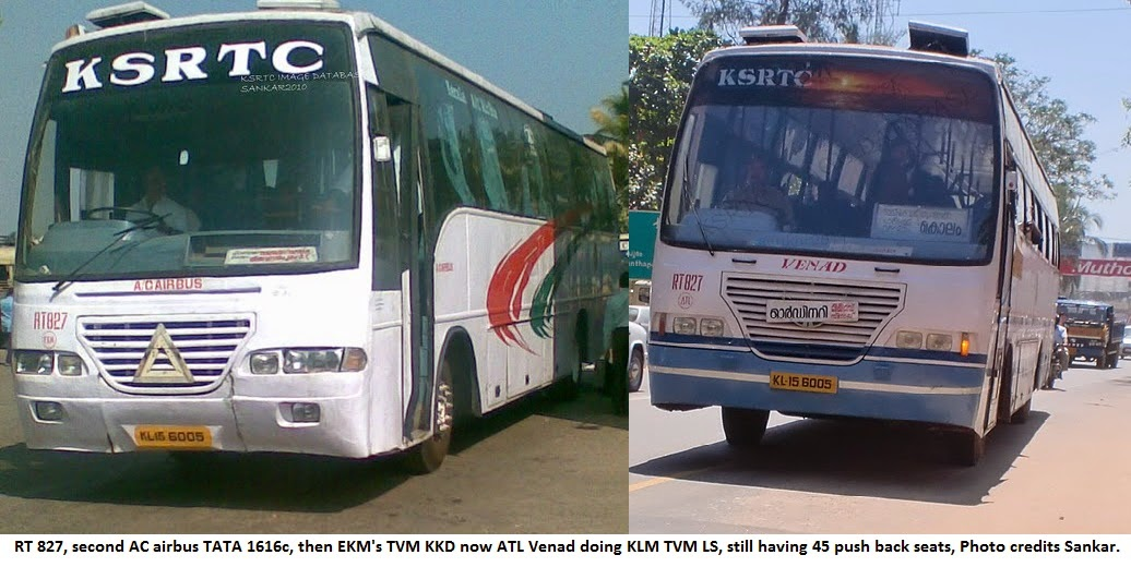 Ksrtc Old Rt Series Ac Air Buses Aanavandi Travel Blog
