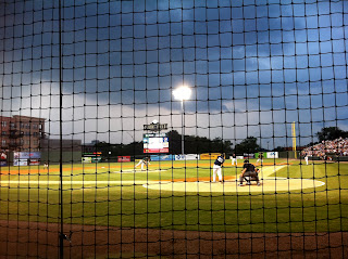 seats behind home plate at the greenville drive