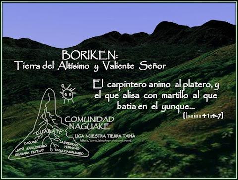 Boriken: Tierra  del Altísimo  y  Valiente  Señor