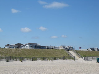 photo of affluent house on the beach in the New Jersey shore