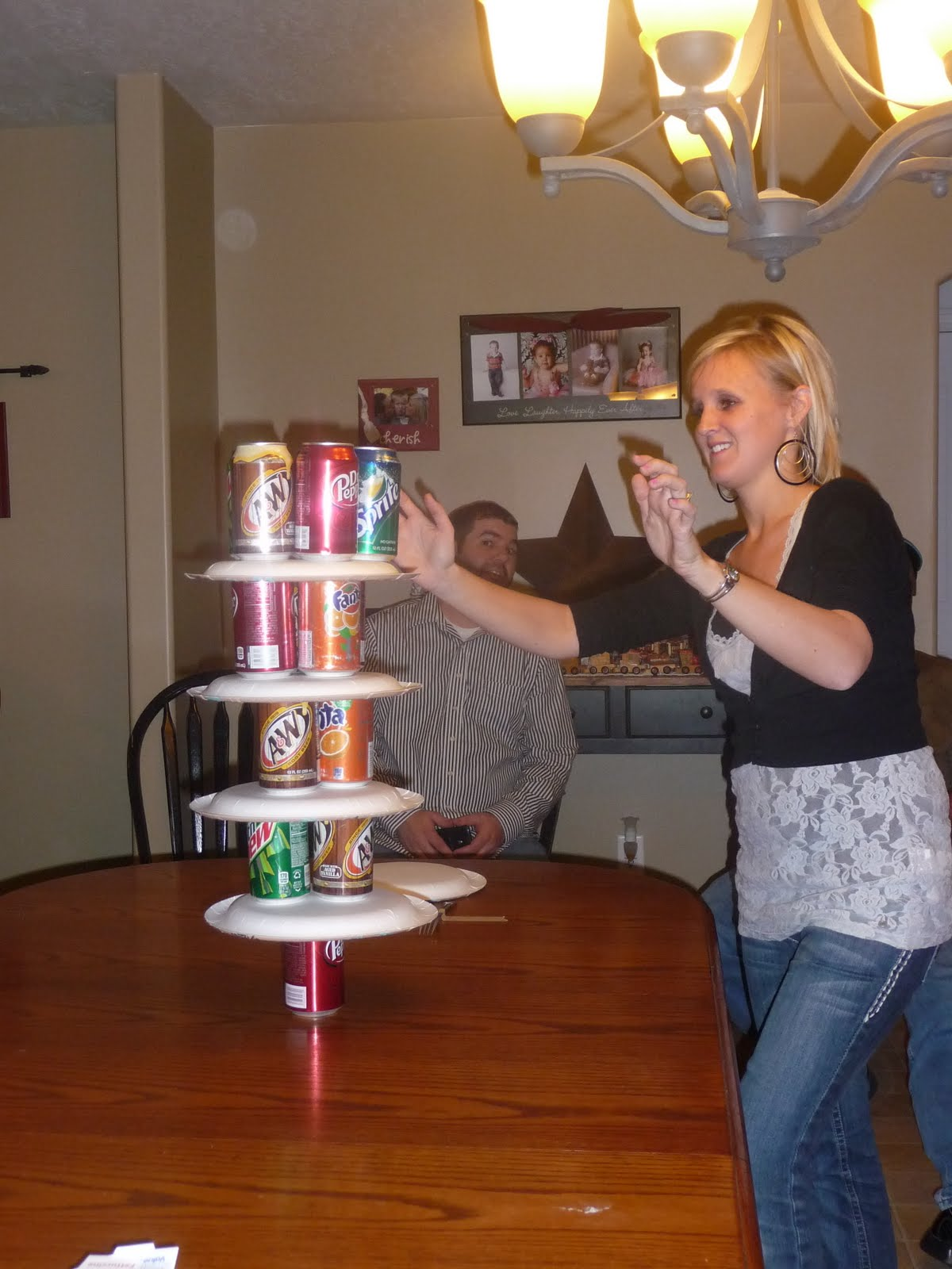 Dallas & Candice Family: Minute to Win It Birthday Party!