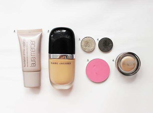 coastal scents thunderous aluminum taupe makeup look swatch