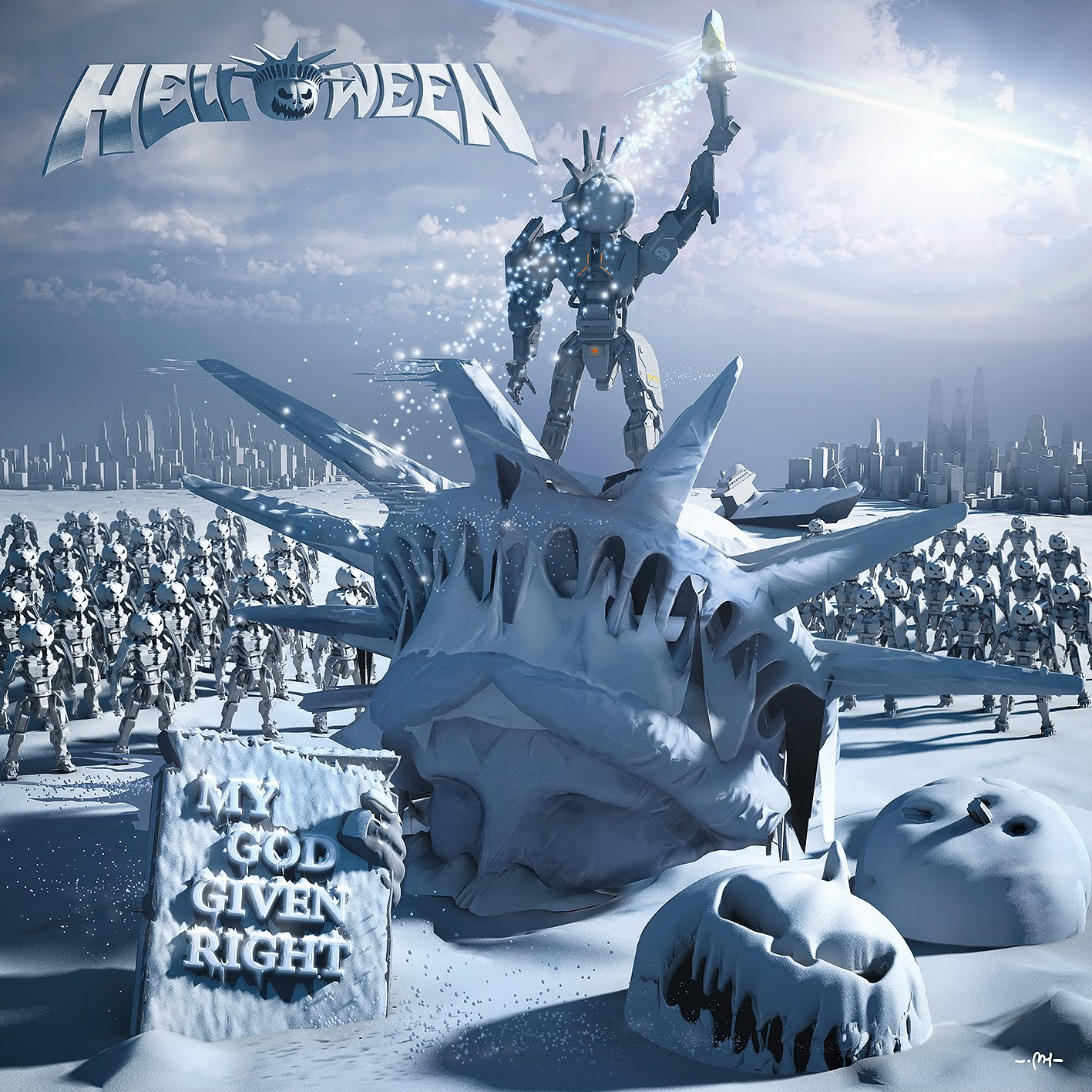 HELLOWEEN- MY GOD GIVEN RIGHT
