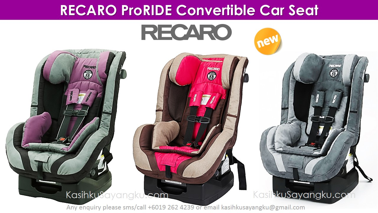 RECARO ProRIDE Convertible Car Seat Made In Germany