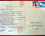 Envío de postales desde Corea del Sur
