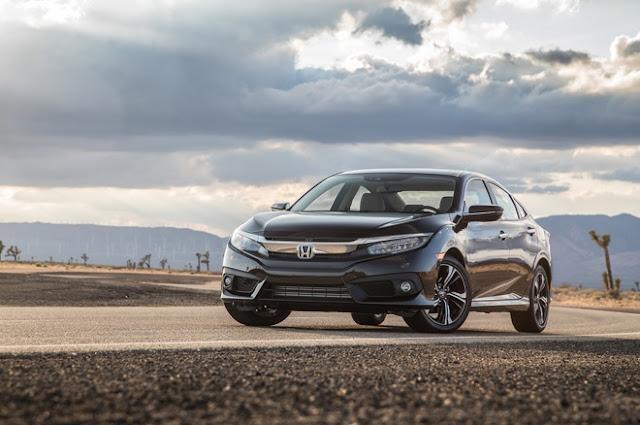 Honda ô tô Civic 2016 xe của năm tại Bắc Mỹ 01