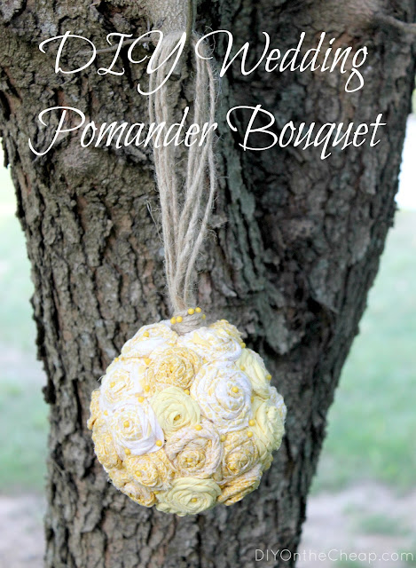 DIY Wedding Pomander Bouquet