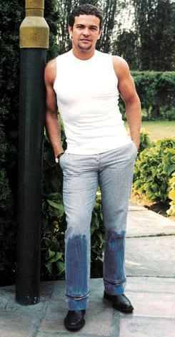 Orlando Fundichely posando en el parque