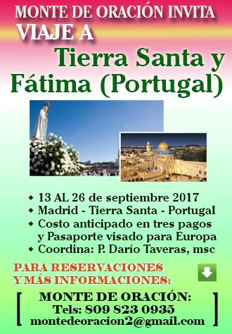 Viaje Tierra Santa - Fátima