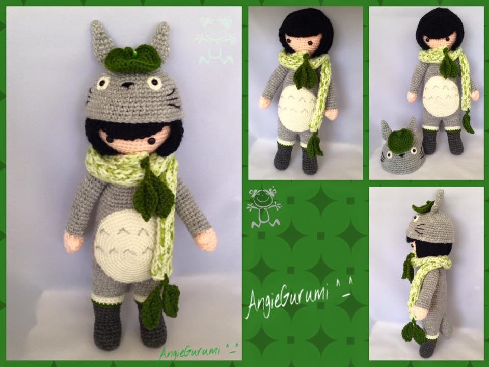 Amigurumi DIY by AngieGurumi: (◕‿◕✿) Amigurumi, Totoro Doll, Free