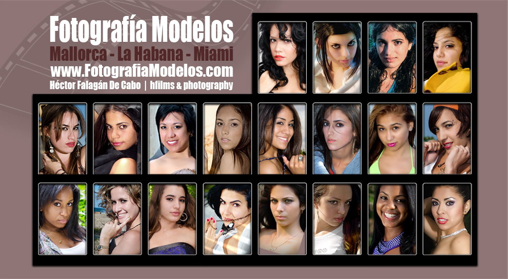 Fotografía Modelos -Mallorca-LaHabana-Miami-
