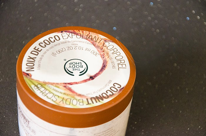 the body shop exfoliante