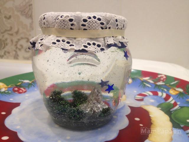 Снежный шар своими руками из подручных средств