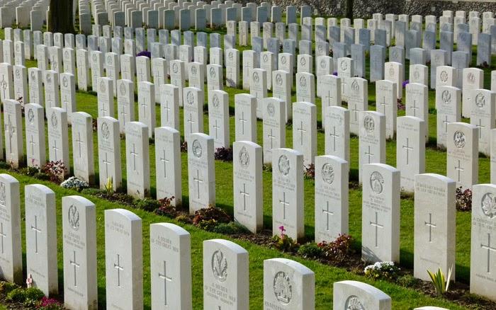 Tyne Cot, war graves, Passchendaele, Known Unto God