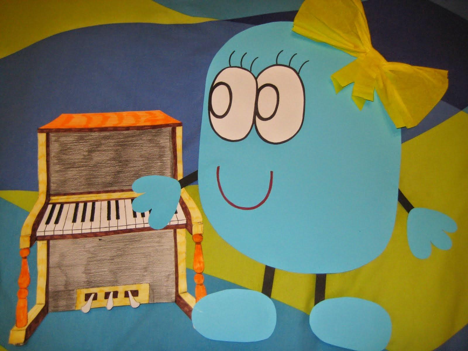 LA NOTA RE´TOCA EL PIANO