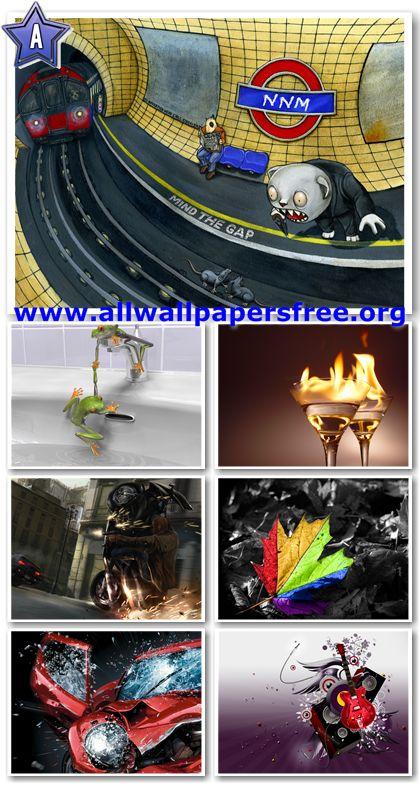 115 Amazing Creative Wallpapers 1600 X 1200