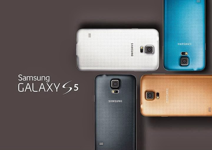 Samsung Galaxy S5 Introduced Lacasa Biru