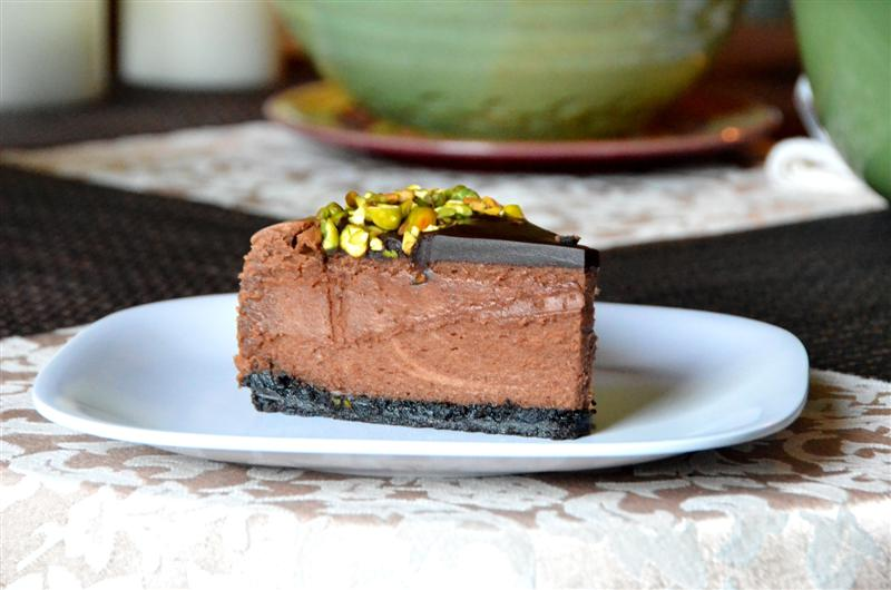 Triple Chocolate Cheesecake - ButterYum