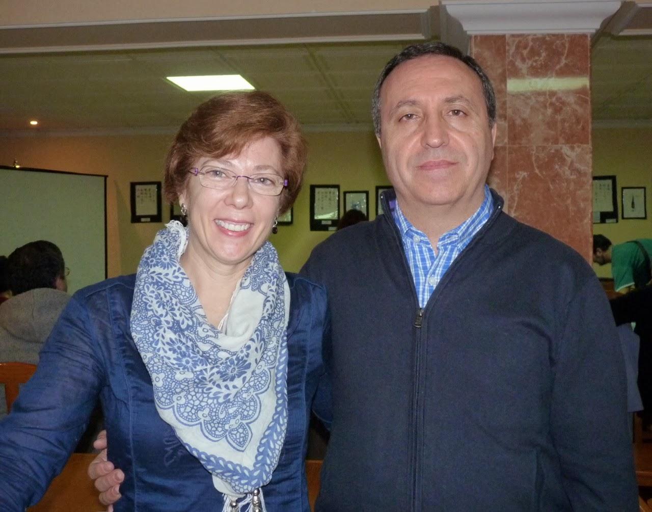 Ana López Navajas y Rafael Castillo