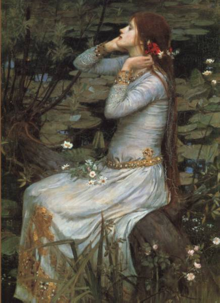 ophelia john williams waterhouse