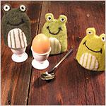Frosch-Eierwärmer