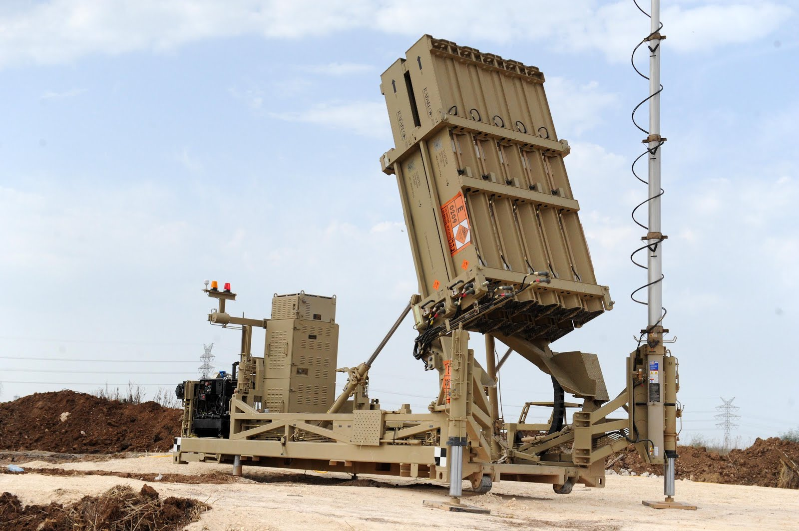 India Expresses Desire for Iron Dome System - Asian Defence News Today