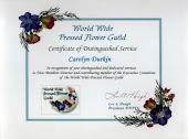 WWPFG Certificate