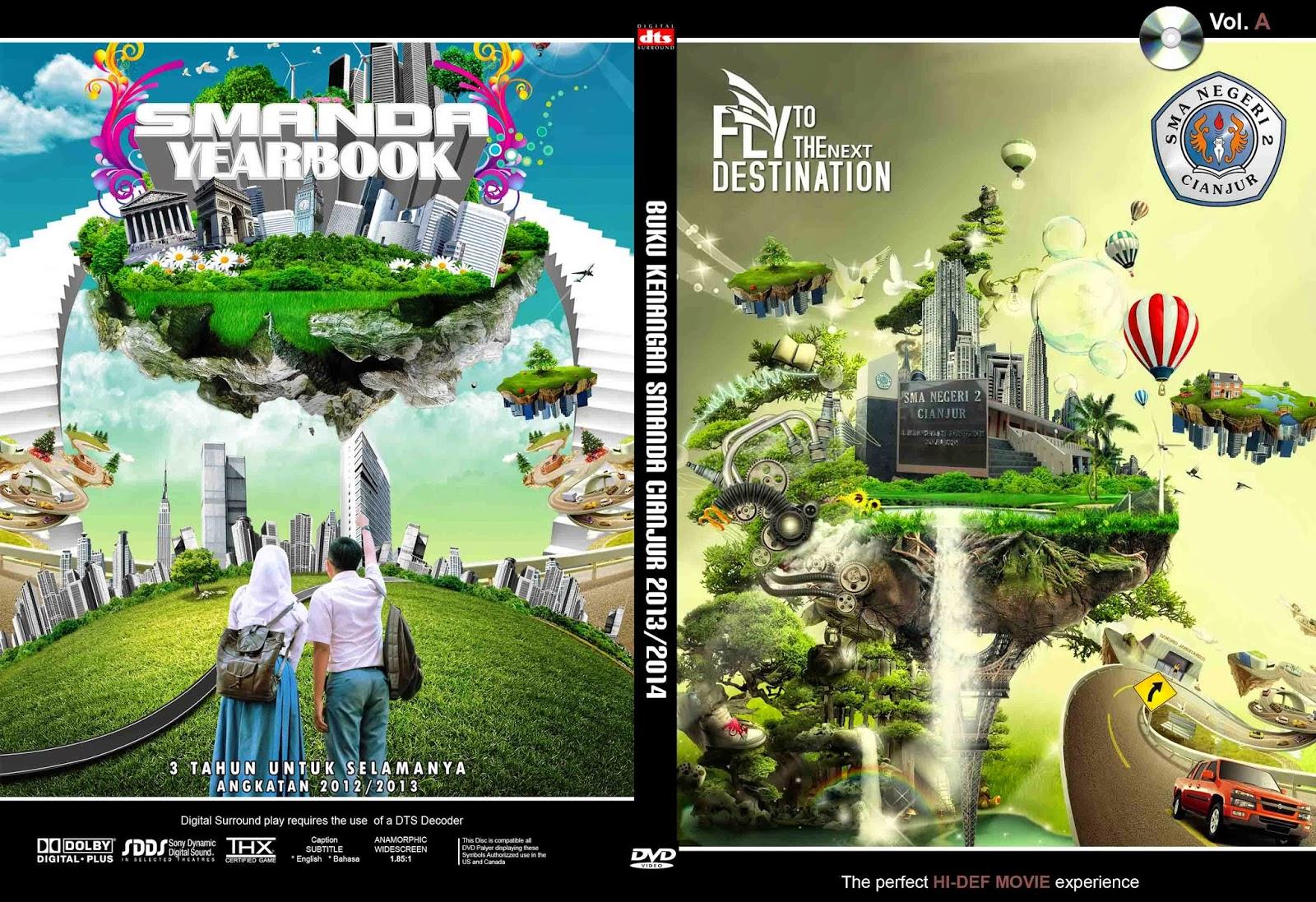 Cara membuat cover box dvd dengan photoshop