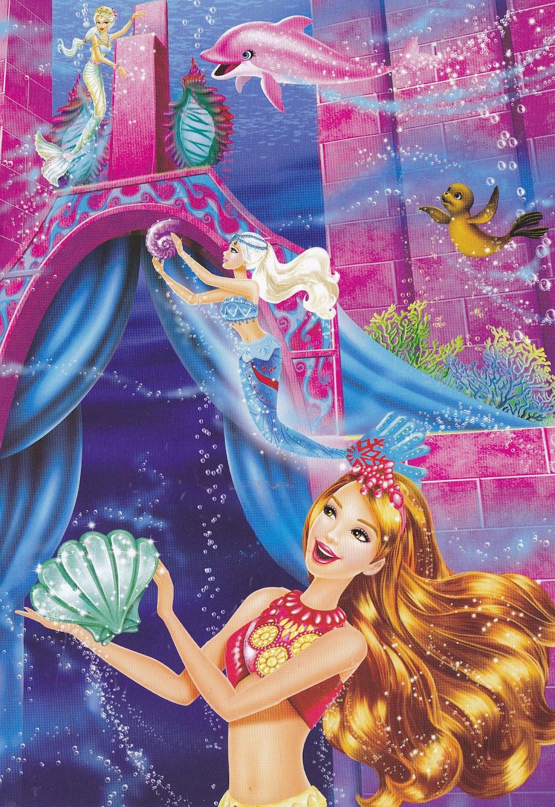 tag assistir desenho animado barbie vida sereia