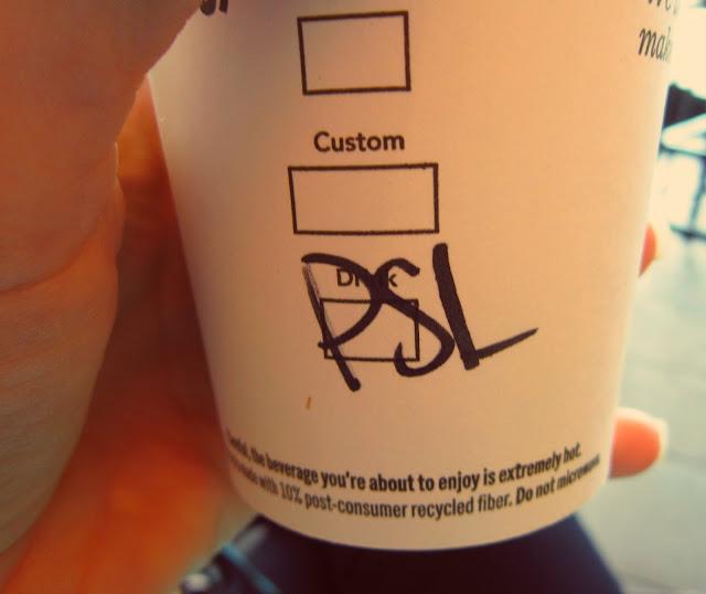 Starbucks PSL Pumpkin Spice Latte