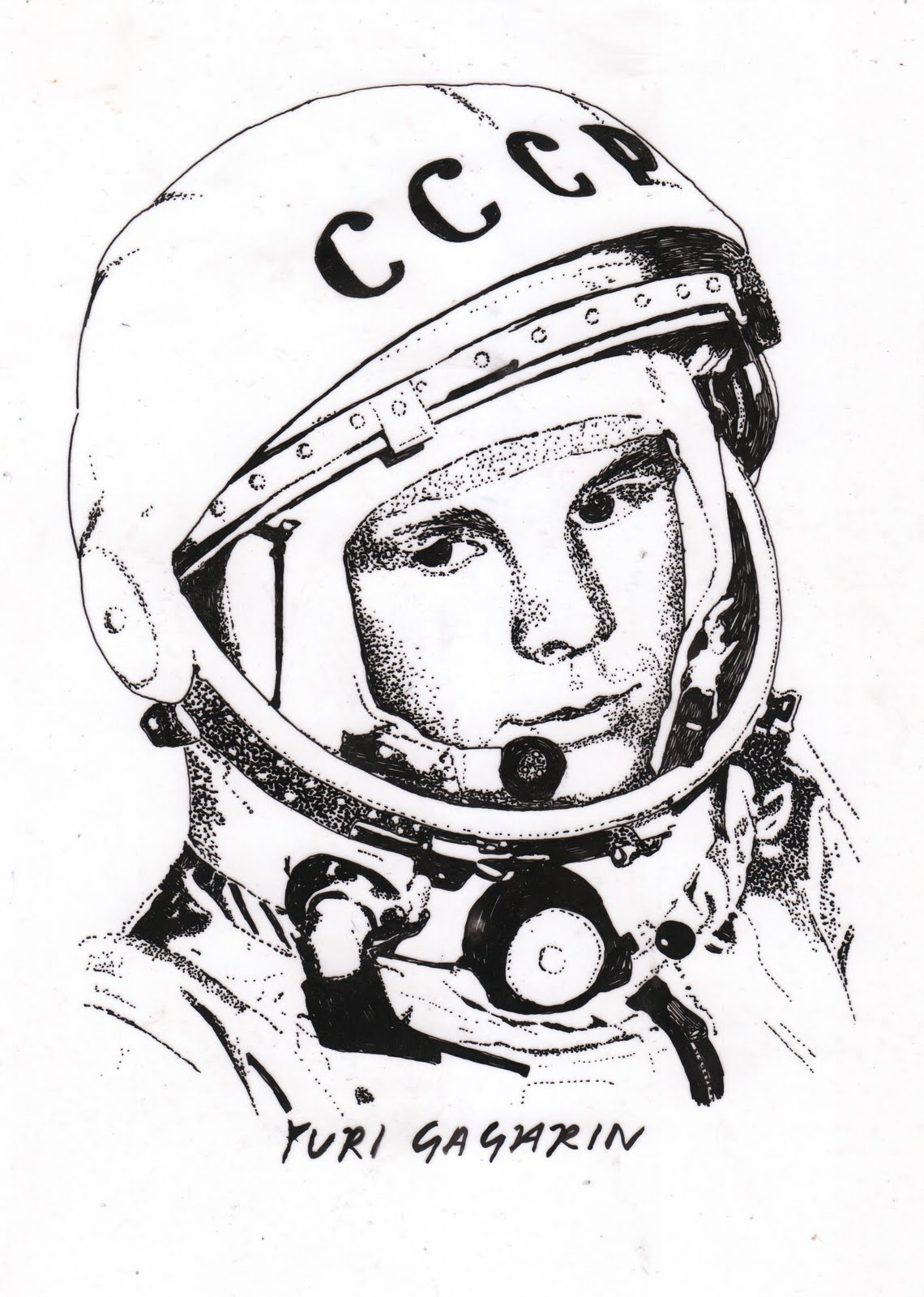 neil armstrong and yuri gagarin First cosmonaut yuri gagarin dreams of the moon, just like the twelfth american  astronaut neil armstrong by 1968, space race between ussr.