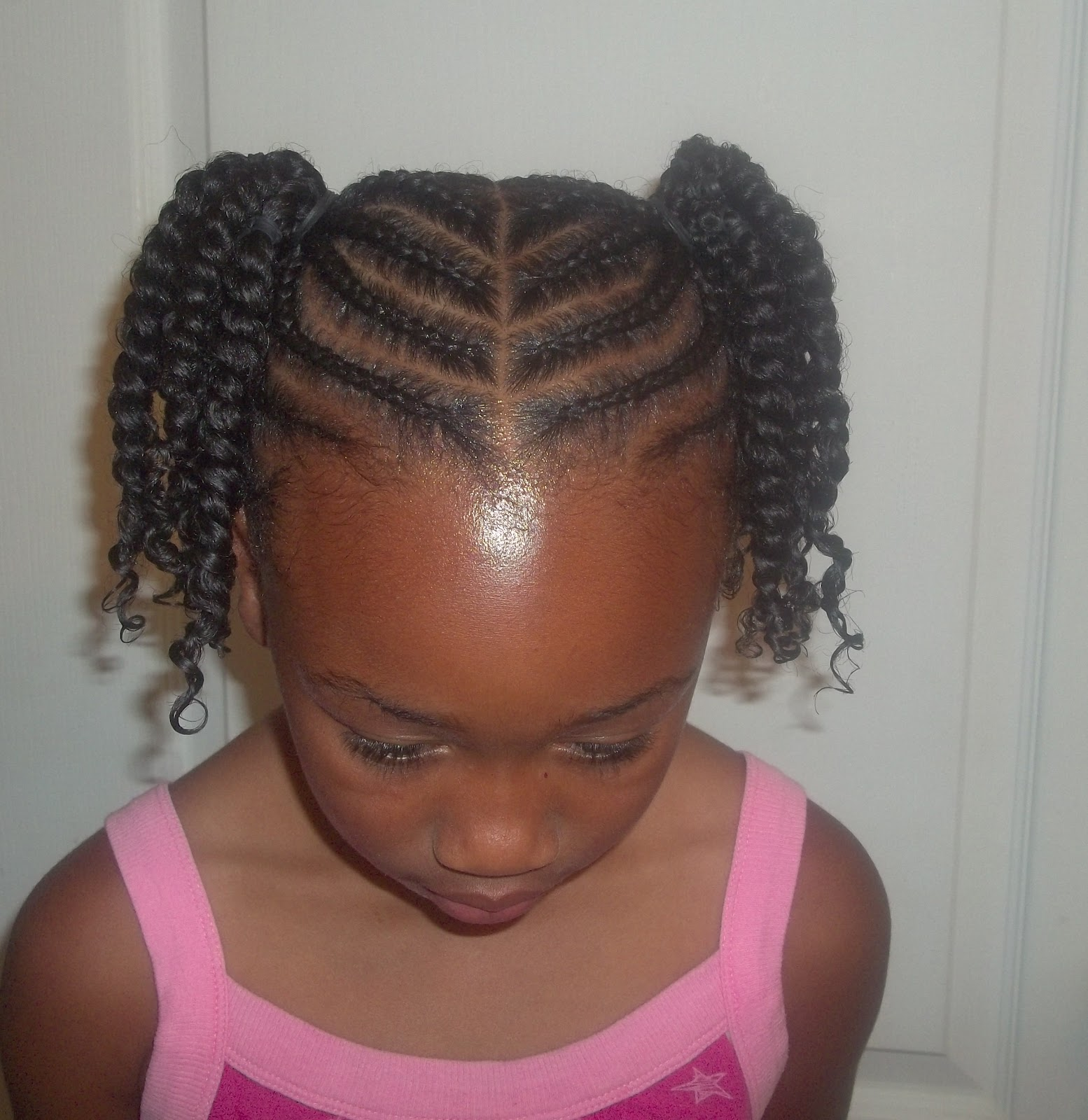 kids short hairstyles : Displaying 15> Images For - Black Kids Cornrow Hairstyles...