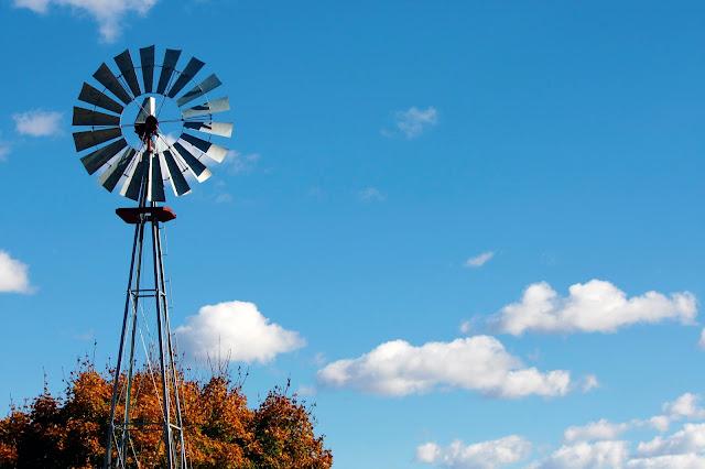 Wind Mill In Kensington Metro Park