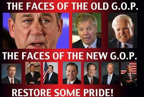 The Faces of the New GOP