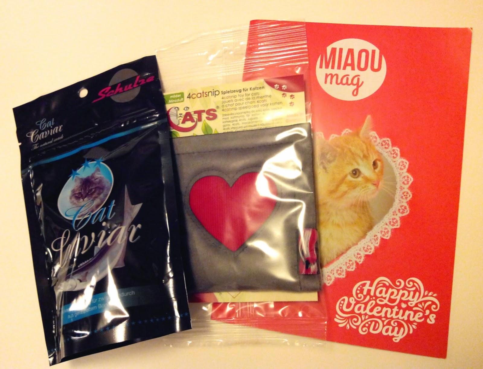 miaoubox février 2015,cat caviar, jouet, bullelodie