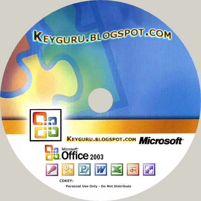 Microsoft Office 2003 CD