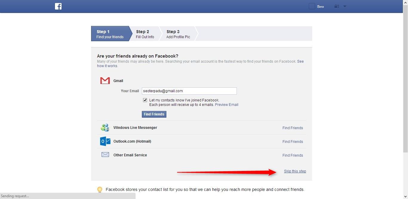 Cara Membuat Facebook 2