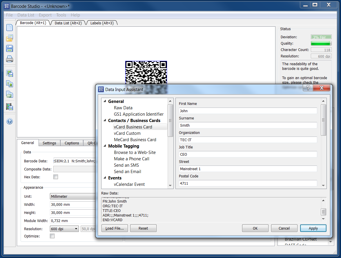 Identifying Objects   by TEC-IT: Update! Barcode Maker Software ...