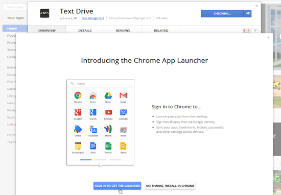 Download Chrome App Launcher